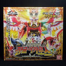 Bandai Power Rangers Gao-ranger Wild force DX GAO ICARUS ISIS MEGAZORD Figures
