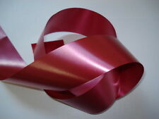 A 50mm WIDE WEDDING CAR RIBBON & 3 LARGE PULL BOWS