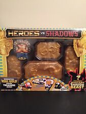 Treasure X Heroes vs Shadows with Guaranteed Real Gold Dipped Treasure Inside