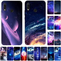 For Huawei P30 P20 P10 Lite Pro Smart Slim Soft Silicone Painted TPU Case Cover