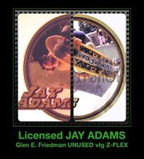 Vtg 1977 Jay Adams Glen E Friedman Z-Flex skateboard Dogtown Nos t-shirt iron-on