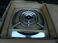 """NOS NuTone 8110 Aluminum Vtg 10"""" Automatic Through The Wall Exhaust Fan Open Box"""