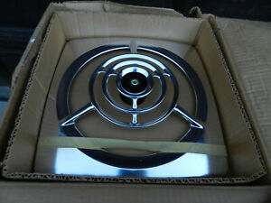 "NOS NuTone 8110 Aluminum Vtg 10"" Automatic Through The Wall Exhaust Fan Open Box"