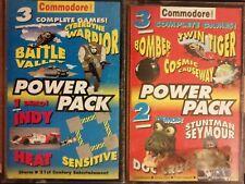COMMODORE 64 FORMAT x2 COSMIC CAUSEWAY CYBERYNE WARRIOR BATTLE VALLEY SEYMOUR ++