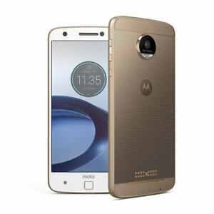 Motorola Moto Z Force Droid XT1650FG 32GB GSM Unlocked Smartphone Fine Gold