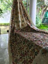 Tussar Silk Saree Hand Made Pure Silk  Kantha Embroidered Saree  USA SELLER