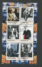 Angola 2000 Person of 20th Century - Albert Einstein S/S CTO (6)