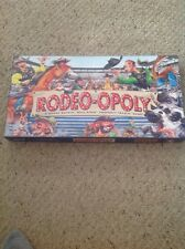 Used Rodeo-opoly Monopoly, Complete, By Late For The Sky