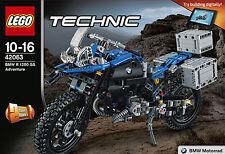 Lego - 42063 - BMW R 1200 GS Adventure
