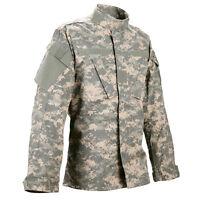 USED medium /reg  ACU Shirt/Coat  USGI Digital Camo Cotton/Nylon Army Combat