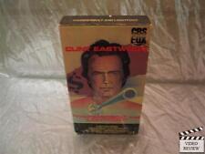 Thunderbolt and Lightfoot (VHS, 1989) Clint Eastwood Jeff Bridges George Kennedy