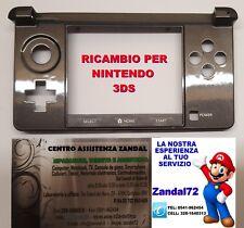 COVER CASE SCOCCA DI RICAMBIO PER NINTENDO 3DS HINGE SHELL COLORE NERO 3 DS