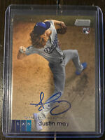 2020 Topps Stadium Club DUSTIN MAY Autograph Auto Dodgers Rookie RC- Rookie Auto