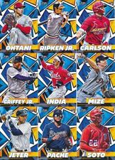 2021 Topps Fire - BASE & ROOKIE CARDS - Card #s 1-200 - U Pick From List