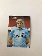 Spelerskaart Topspieler Club Brugge Jan Ceulemans