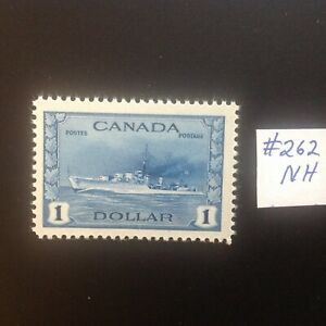 Canada Stamps Mint # 262 Destroyer Very Fine centering NH