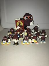 Huge Vintage California Raisins Small Figures Toys 1987 1988 Hardees