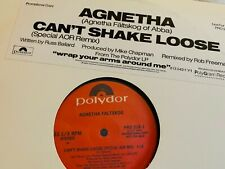 "Agnetha Faltskog / Abba : Can't Shake Loose 12"" AOR remix LP Vinyl Wrap your arm"