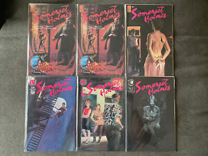 Somerset Holmes #1 (2 Copies), 2, 3, 4, 5 Run Lot Of 6 (Pacific Comics, 1983-84)