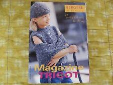 REVUE BERGERE de FRANCE 27 modeles ENFANT TRICOT LAINE PATRON MAILLE MAGAZINE