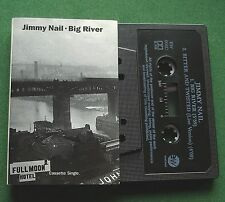 Jimmy Nail Big River / Bitter And Twisted (Live) Cassette Tape Single - TESTED