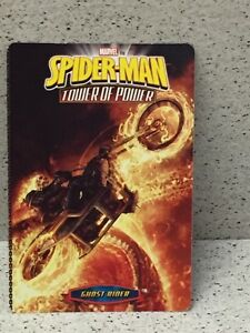 SPIDER-MAN CARTE TOWER OF POWER GHOST RIDER MARVEL LIVRAISON GRATUITE