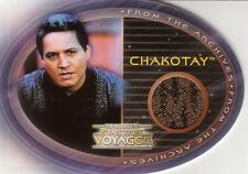 Star Trek - Voyager - The Complete - CHAKOTAY Costume Card #CC3