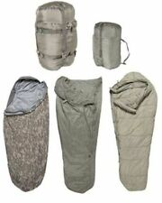 Sleep System US Army ACU IMSS 5 Piece Military Sleeping Bag USGI ECW  Excellent