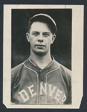 1927 BILL WALKER Denver Grizzlies (Major League Star) Vintage Baseball Photo
