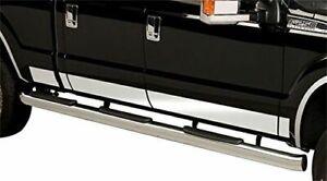 Putco For 2017 Ford F-250/350 SuperDuty STAINLESS STEEL ROCKER PANELS - 9751460