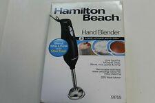 NIB Hamilton Beach 2-Speed KITCHEN Hand Blender 59757 black fast 2days shipping