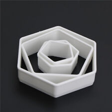 4Pcs Sugarcraft Football Fondant Mold Cookie Cutter Cake Decor Tools Bakeware