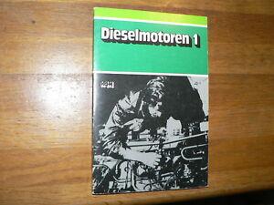 VAM DIESELMOTOREN 1 1981 MOTORVOERTUIGENTECHNIEK ENGINES DIESEL