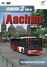 OMSI 2 - Add-On Aachen (PC DVD) BRAND NEW SEALED EXPANSION