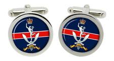 Queen's Gurkha Signals, British Army Cufflinks in Box