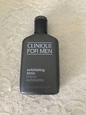 Clinique For Men Exfoliating Tonic 6.7oz/200ml NEW FRESH