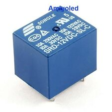1 X  RELE RELAY 10A 12V DC SRD-12VDC-SL-C PCB PARA ARDUINO PROTOTIPO 2P 1C