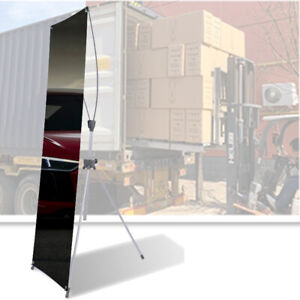 Premium Portable Tripod Banner Stand for Display Show ( Frame ONLY)