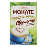 Mokate Cappuccino Smak Orzechowy Hazelnut Instant Coffee Mix 150g Box
