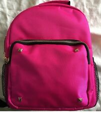 "Accessories Girls Backpacks pink color 9"" W x 5"" D x 11"" H"