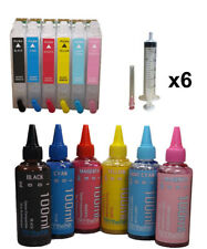 Dye Sublimation ink Cartridges for Epson Artisan 700 710 725 730 800 810 835 837
