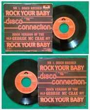 "7"" 45 Giri Disco Connection Rock Your Baby george mccrae DISCO FUNK no lp mc"