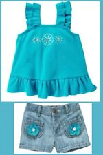 Nwt Gymboree Sea Splash Set Outfit 3-6 Months