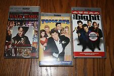 Lot of 3 Tom Cats / Walk Hard / the Big Hit  Comedy Movies for PSP UMD New