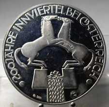 Medaille Innviertel 1979, PP, Silber .900