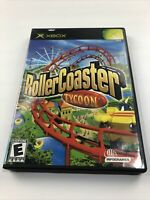 RollerCoaster Tycoon XBox 2003.  Disc And Case, No Manual