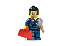 Lego Minifigures 8827 Series 6 Mechanic Brand New in Factory Sealed Packet