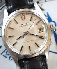 Tudor by Rolex Prince Oyster Date Watch Orig. Silver Dial Ref 75000 Serviced ++