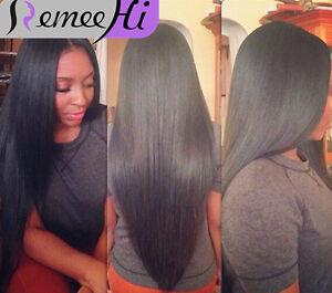UK hot sale full half cap wig 100%Indian human hair Half head wig 3/4 hairpiece