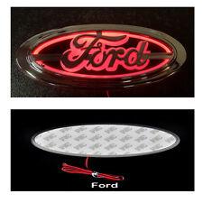 5 D Emblem LED Rear Badge Red 14.5cm x 6.5cm Logo Light Ford Mondeo